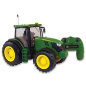 Big Farm - 42838 - V�hicule Miniature - Tracteur Radio Command� - John Deere 6210r