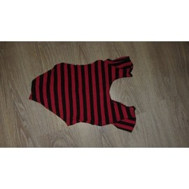 Justaucorps Rouge Et Noir Fille 14 Ans Danse / Gym