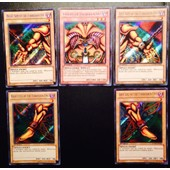 Set Exodia Le Maudit(The Forbidden One)Secret Rare Anglaise Lcyw-En