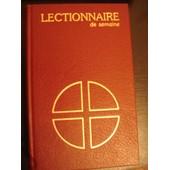 Lectionnaire Semaine
