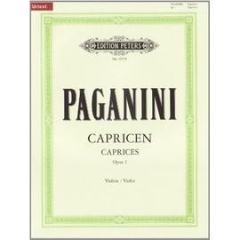 24 Capricen Opus 1 Violine