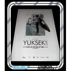 Affiche / Poster - Yuksek - Living On The Edge Of Time (60x40 Cm)