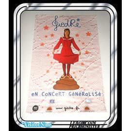 Affiche / Poster - Giedré - Concert Généralisé (60x40 Cm)