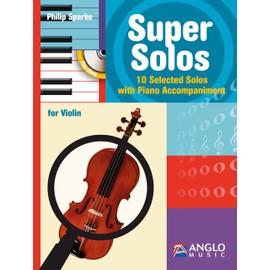 Super Solos - Violin + CD