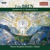 Brun:Sinfonien 5+10 -