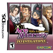 Ace Attorney Investigations : Miles Edgeworth (Import Am�ricain)