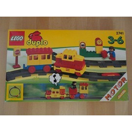 Lego duplo Train à Piles 2741 Circuit de Rails et Locomotive