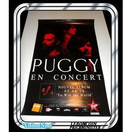 Affiche / Poster - Puggy - Concert Live (60x40 Cm)
