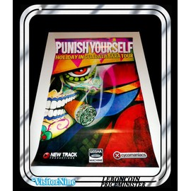 Affiche / Poster - Punish Yourself - Holiday in Guadalajara Tour (60x40 Cm)