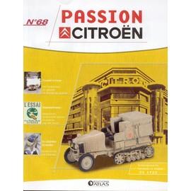 Passion Citroën n° 68 - Autochenille K1 (1re traversée du Sahara) de 1922