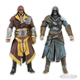 Figurines Assassin's Creed Revelations Ezio Auditore - Pack De Deux