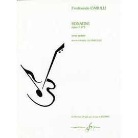 CARULLI : Sonatine op. 7 n°3