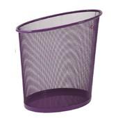 Alba Corbeille � Papier En M�tal Mesh - Coloris Violet