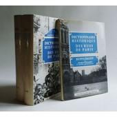 Dictionnaire Historique Des Rues De Paris ( Complet : 2 Tomes + 1 Suppl�ment) de Hillairet