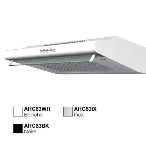 Hotte visière AIRLUX AHC63BK NOIR