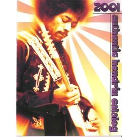 Lot de 5 Catalogues Authentic Jimi Hendrix USA