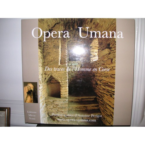 9782951141520 - Antoine Perigot: Opera Umana,Des Traces De L'homme En Corse - Livre