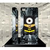 Coque Iphone 4 4s Iph04 003 005 025 Minion Batman The Dark Knight Hard Case