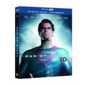 Man Of Steel - Combo Blu-Ray3d + Blu-Ray2d de Zack Snyder