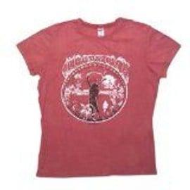 T-Shirt WOODSTOCK FESTIVALWoodstock Femme Med - Import direct USA