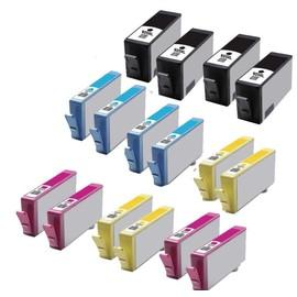 16 X Cartouches D'encres Compatible Pour Hp 920 Xl 920xl Hp Officejet 6500,Hp Officejet 6500 Wireless,Hp Officejet 6000,Hp Officejet 6000 Wireless Officejet 6000 Special Edition (Bk/C/M/Y)