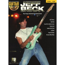 Guitar Play-Along Volume 125 : Jeff Beck + CD
