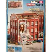 Kibri Ho 9811 Fabrique De Lunettes Galaxy 1/87 Maquette A Monter Immeuble Urbain