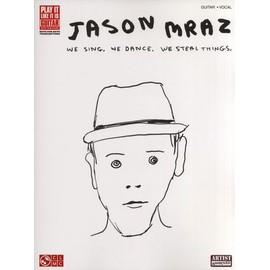 Jason Mraz : We Sing, We Dance, We Steal Things TAB