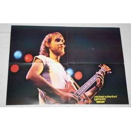poster affiche magazine best mike rutherford 59x42 genesis