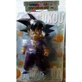 Dragon Ball Z Kai Big Size Son Goku Tenue De Ninja Soft Vinil Banpresto