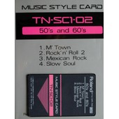 Music Style Card Tn-Sc1-02 50's And 60's