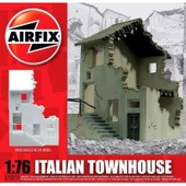 Maquette Ruines De Guerre : Maison De Campagne Italienne