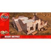 Maquette Ruines De Guerre : Poste Avanc� Du D�sert
