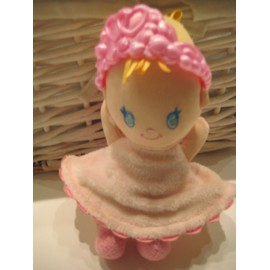 Poup�e Ange Avec Grelot Robe Avec Des Ailes Roses Fisher Price By Mattel 15 Cm