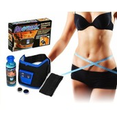 Ceinture Amincissante Abgymnic Electrostimulation Fitness Musculation Gel De Contact Anti-Cellulite Electrodes Cuisses Fesses Ventre Abdominaux + 1 Gel 100ml
