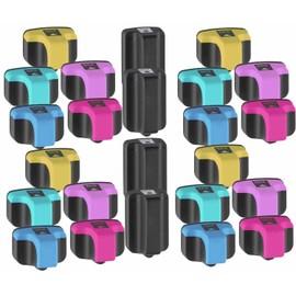 Premium 24 Compatible Pour Hp 363 Avec Puce Sup�rieure Qualit� Cartouche D'encre � Hp Photosmart C6240 C6250 C6270 C6280 C6288 C7150 C7170 C7190 C7250 C7270 C7280 C8150 C8170 C8180 D6100 D6160 D7100