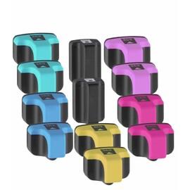 12 X Cartouches D'encres Compatible Pour Hp 363 Avec Puce , Hp Photosmart 3100 3108 3200 3213 3214 3308 3310 8250 C5100 C5150 C5170 C5175 C5180 C5190 C6160 C6170 C6175 C6180 C6190