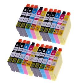 20 X Cartouches D'encres Compatible Pour (T1295) T1291 T1292 T1293 T1294 Avec Puce , Epson Stylus Office B42wd, Bx305f, Bx305fw, Bx305fw Plus, Bx320fw, Bx525wd, Bx535wd, Bx625fwd, Bx635fwd, Bx925fwd