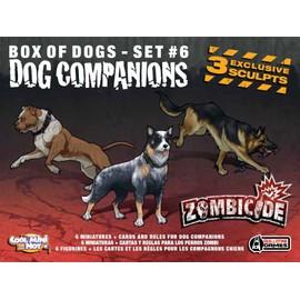 Zombicide : Dog Companions Set 6