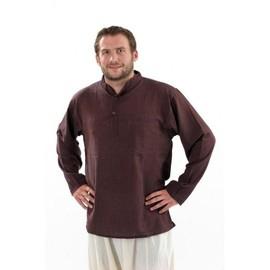 Fantazia - Chemise Ethnique Homme - Chemise Coton Nepalais 3 Boutons 1 Poche
