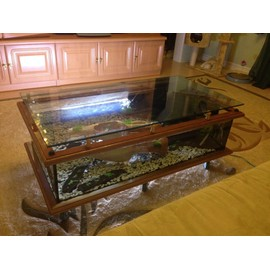 aquarium table basse d occasion. Black Bedroom Furniture Sets. Home Design Ideas