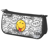 Herlitz Trousse Ronde Smileyworld Scribble Polyester 22x45x10cm