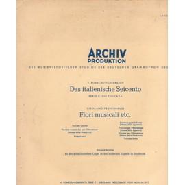 les seicento italien  série c : la toccata  quinta, toccata cromaticha per elevations bergamasca, toccata sesta  recercar post il credo