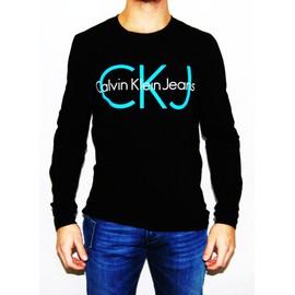 T-Shirt Calvin Klein Manche Longue Cmp87q