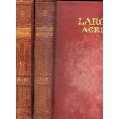 Larousse Agricole Encyclopedie Illustree - Tome 1 Et 2 - Cartonnage Editeur Rouge de CHANCRIN E. / DUMONT R.