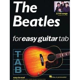 The Beatles for Easy Guitar Tablature Guitar Tab