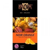 Kaoka - Tablette De Chocolat Noir Orange Bio