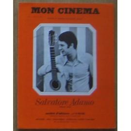 Mon cinema - Salvatore Adamo - Partition voix et piano