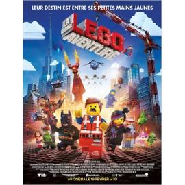 La Grande Aventure Lego (The Lego Movie) - V�ritable Affiche De Cin�ma Pli�e - Format 120x160 Cm - De Phil Lord, Chris Miller Avec Chris Pratt, Will Arnett, Morgan Freeman, Elizabeth Banks - 2014
