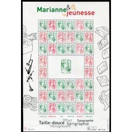 FRANCE ANNée 2013 FEUILLE NEUVE** MARIANNE DE LA JEUNESSE